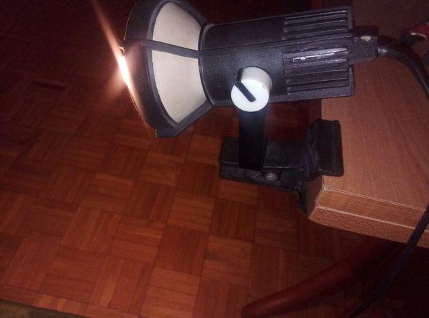 Polam Wilkasy PRL lampka nocna z klipsem