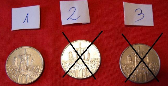 moneta z 1990r. - Solidarność - 10 000 zł