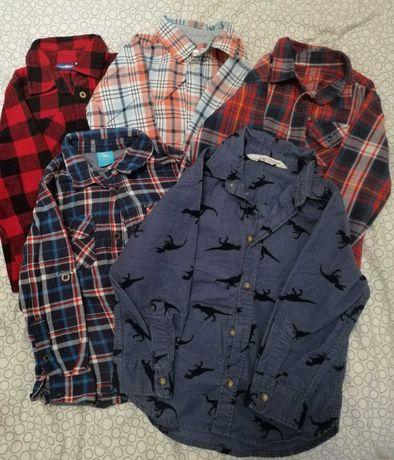 Koszula dla chłopca 5 szt 98-110