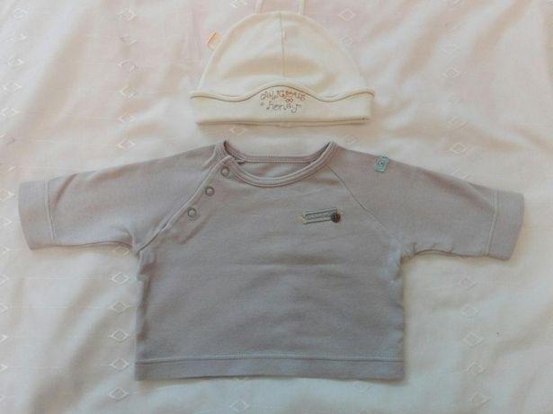 Koszulka i czapeczka dla niemowlaka