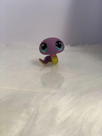figurka lps fioletowy wąż