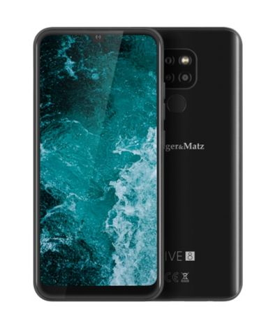 Smartfon Kruger&Matz LIVE 8 black
