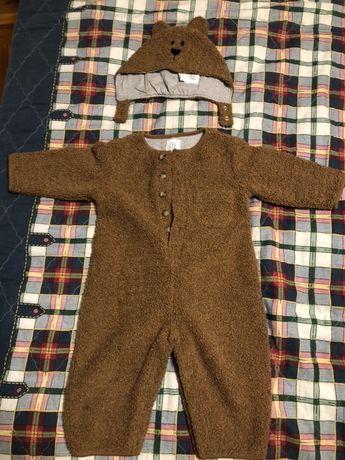 Детский костюм, комбинезон, костюм мишки GAP