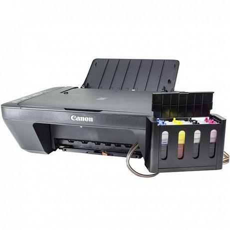 Принтер Сканер МФУ CANON E414 + СНПЧ Струйный + Подарок