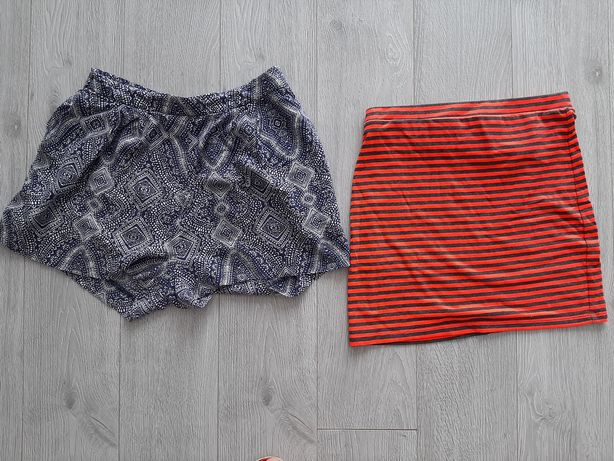 Spodenki i spodniczka mini H&M roz 38