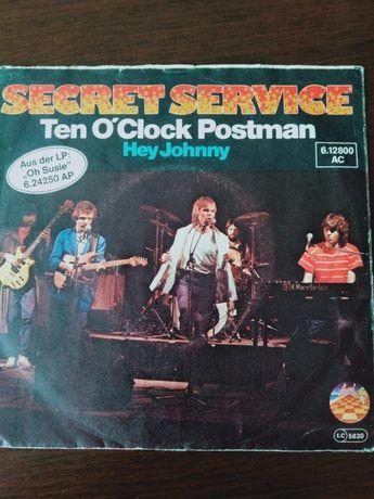 SECRET SERVICE Ten O'Clok Postman płyta winylowa 7