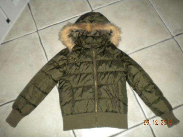 Ciepła kurtka zimowa H&M r. 140, na 9-10 lat.