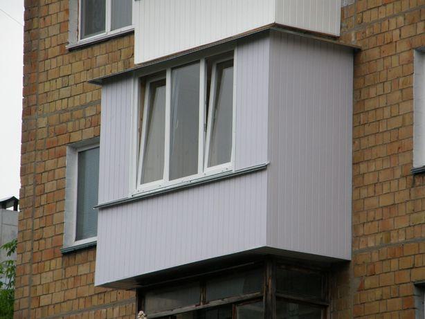 """Ремонт балконов """"под ключ"""". Окна. двери"""