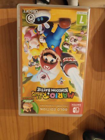 Mario & Rabbids  Kingdom Battle złota edycja gra Nintendo Switch karta