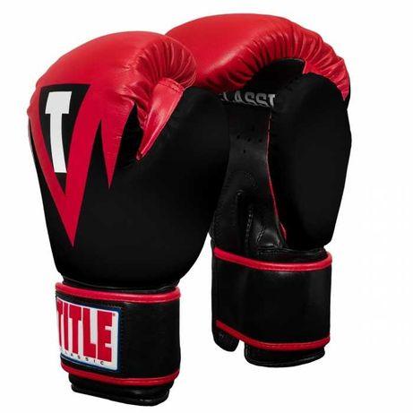 Оригинальные Боксерские Перчатки TITLE Classic Blaze Boxing Gloves