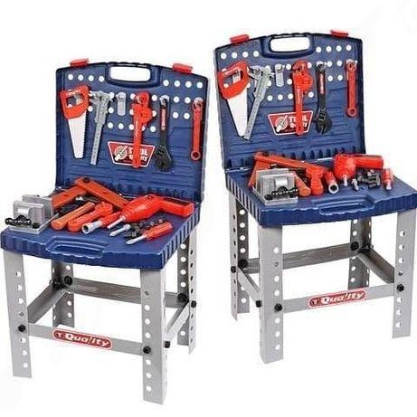 Детский игровой набор чемодан-столик /столик с инструментами