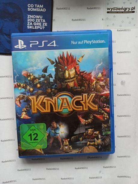 Knack PS4 PlayStation 4 PS5