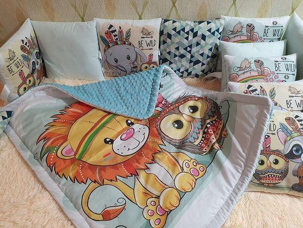 Бортики в кроватку /круглая кроватка /конверт на выписку