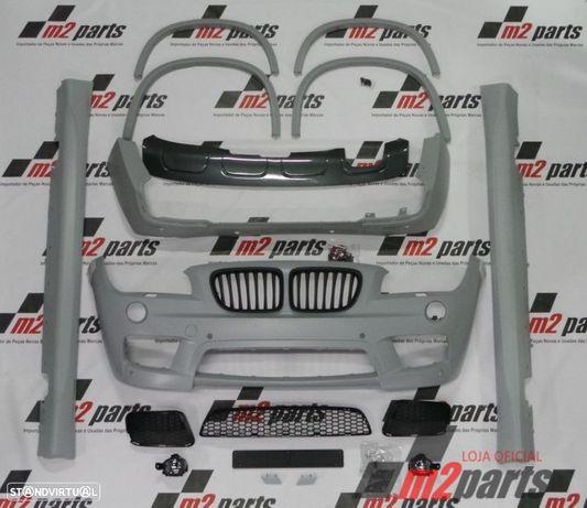 Kit M/ Pack M BMW X1 (E84) Cor Unica M Sport em ABS Novo