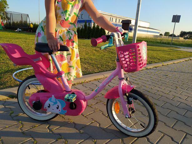 Rower 14 cali jednorożec