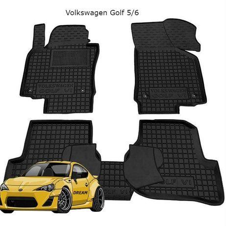 Коврики резиновые Volkswagen Golf 5 2003-/Golf 6 2008-