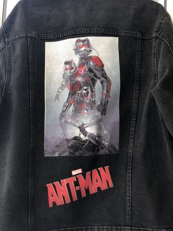 Джинсовка джинсовая куртка Bershka Ant Man Avengers Marvel Муравей