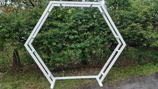 Ścianka Łuk Geometryczny Heksagon