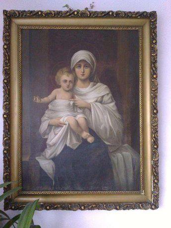 Obraz olejny F. Jedrzejczyk
