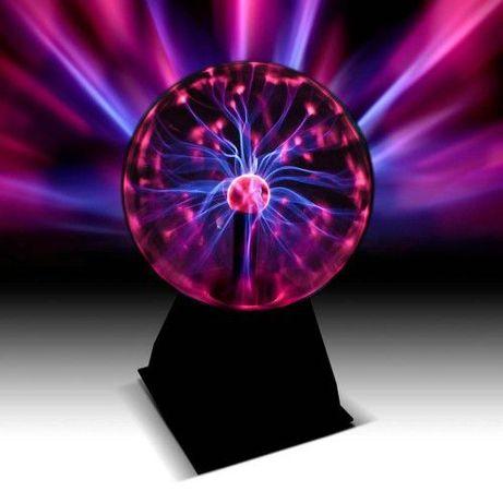 Тактильный шар сфера с молниями Плазменный шар 12 см Plasma Ball