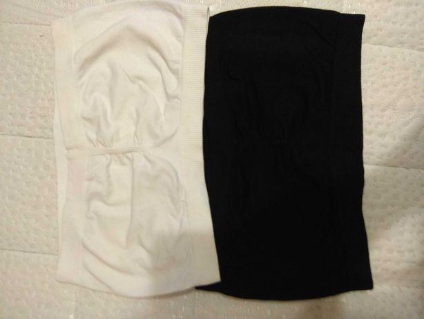 Staniczki bandeau biały i czarny