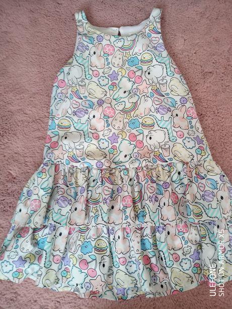 Sukienka sukieneczka H&M 122