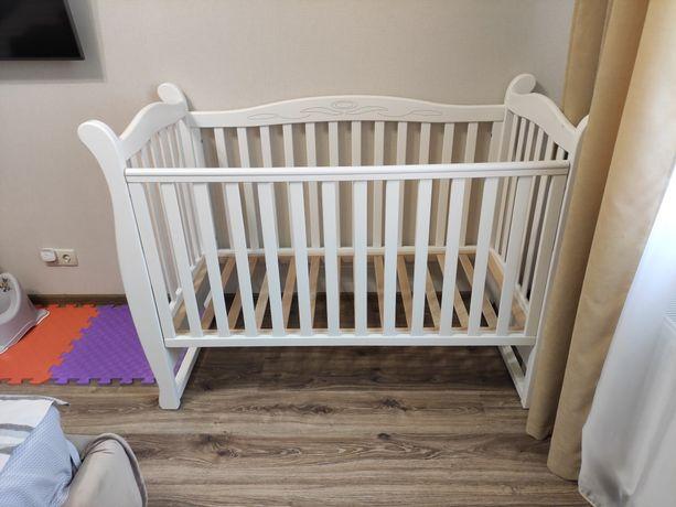 Детская кроватка Верес Соня ЛД-15 с матрасом