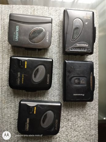 Walkman Sony i Panasonic z radiem