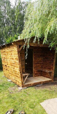 Sauna ogrodowa domek
