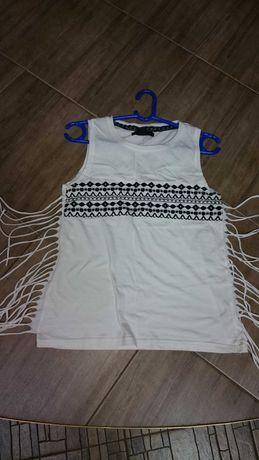 Блузка футболка Atmosphere с вышитым узором для девочки 44