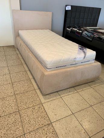 Łóżko tapicerowane 90 x 200 cm + Materac Premium 30 cm