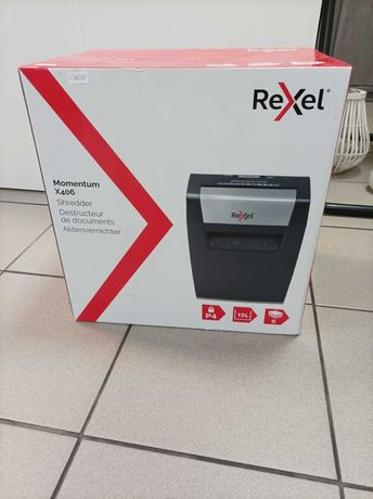Nowa niszczarka papieru Rexel Momentum x406