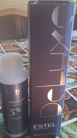 Краска для волос Estel 9/7 + 3% оксигент