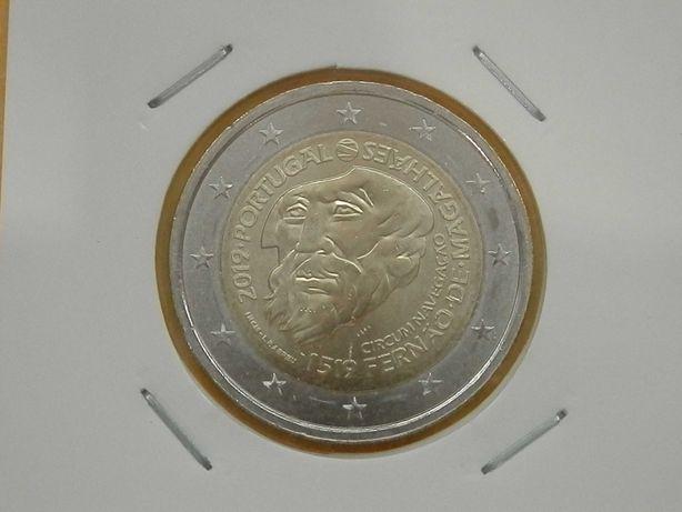 366 - Moedas Comem. Euro € 2,00€, 2,50€, 5,00€, 7,50 €
