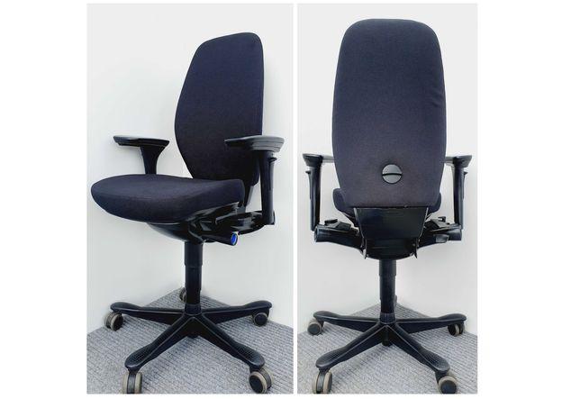 Fotele obrotowe biurowe Kinnarps 9000 ergonomiczne nowe obicie