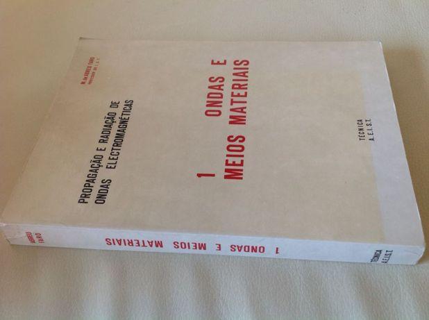 Ondas e Meios Materiais, M. Abreu Faro (novo, autografado pelo autor)
