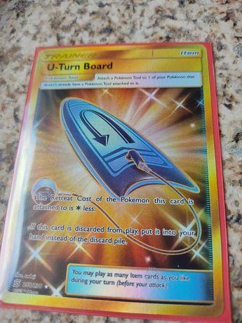 Carta Pokémon U-Turn Board