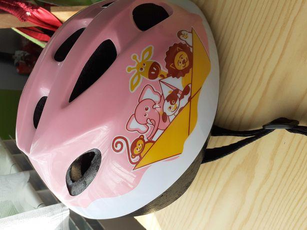 Kask rowerowy dziecięcy 46-53cm