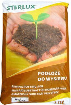 PODŁOŻE DO WYSIEWU STERLUX 10L do uprawy roślin z nasion