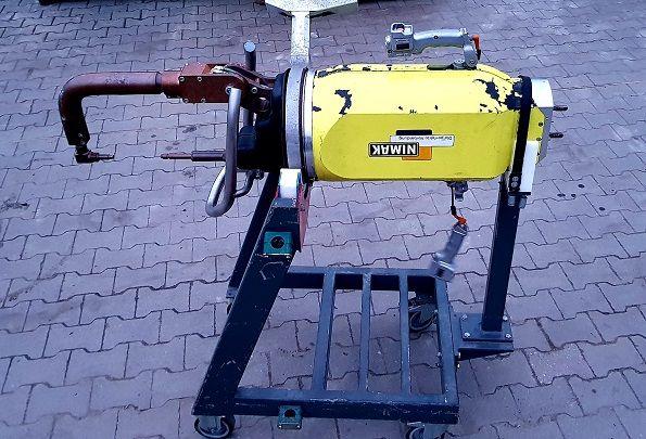 Zgrzewarka punktowa NIMAK w pełni sprawna przewody miedź 130mm