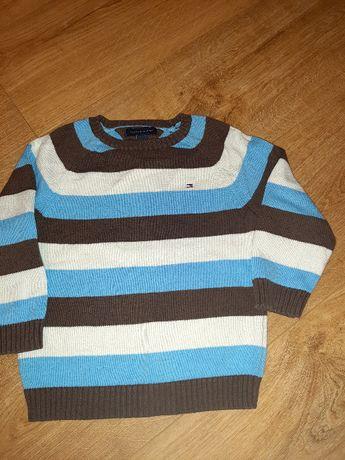 Chłopięcy sweter TOMMY HILFIGER rozm 116 na latka