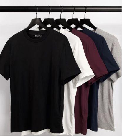 Комплект 5 футболок (100% хлопок)