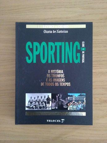 """Livro """"Sporting -A História, os Triunfos e as Imagens .."""""""