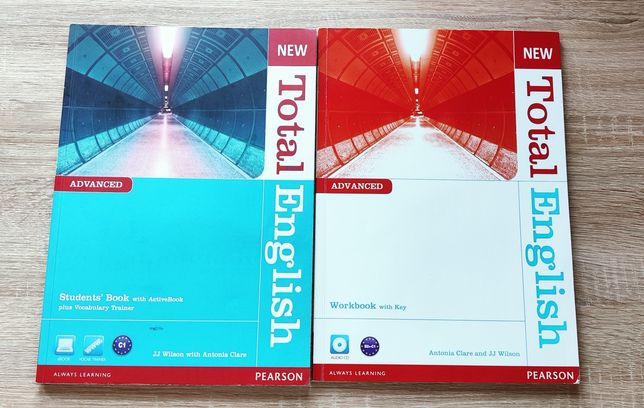 New Total English advanced Pearson