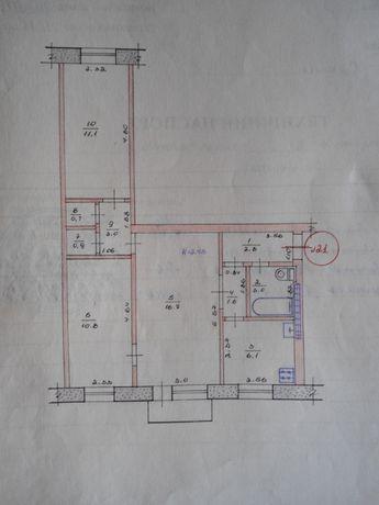 ПРОДАЮ 3-х комнатную квартиру в г. Курахово