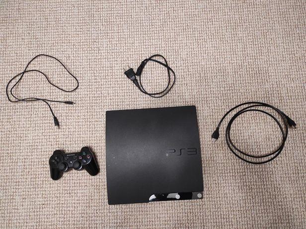 Sony Plastation 3 Slim Прошитая 120ГБ