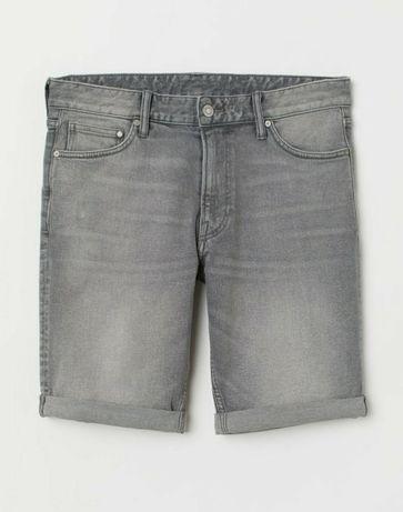 Стильные серые шорты / h&m / шорты для мальчика / 140 /