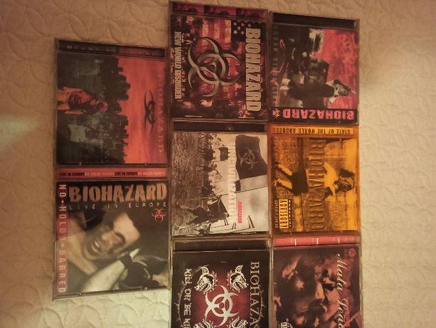 BIOHAZARD - dyskografia 8 cd rarytas!