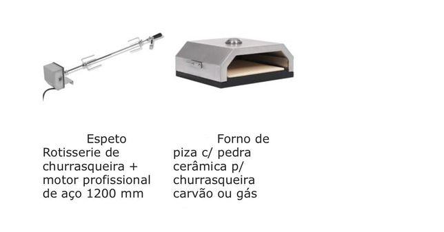 Churrasqueiras - grelhadores, vários modelos tamanhos e tipos material