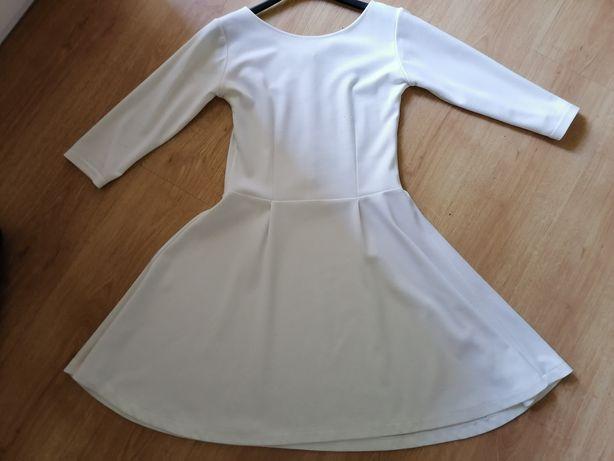 Biała sukienka PersKA rozmiar L